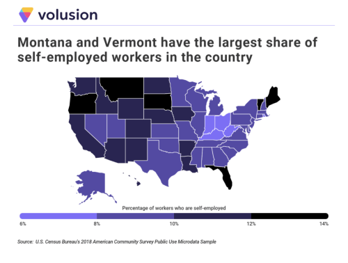 These Are The Cities With The Most Self-Employed Workers