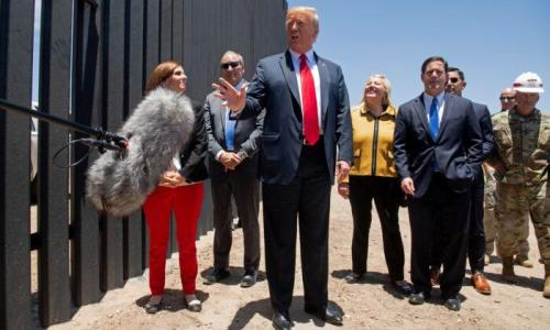 Supreme Court Sides With Trump, Denies Request To Halt Border Wall Construction
