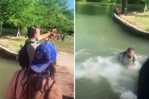 Watch: Park Ranger Thrown Into Lake In Texas Over 'Social Distancing' Enforcement