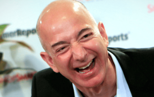 Bailouts Secured: Bezos Wealth Soars By  Billion As 17 Million Americans Lose Their Jobs