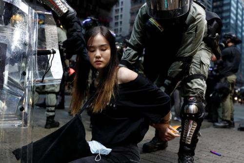 Arrest Of 750 Child Protesters In Hong Kong Sparks Outrage