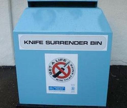 """Church Of England: The UK Must Ban """"Pointy Knives"""""""