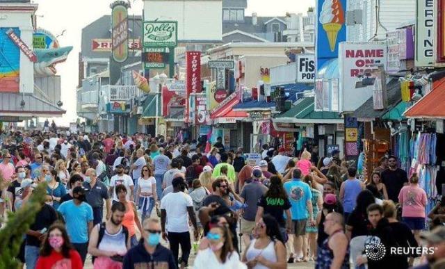 Ocean City, Maryland Boardwalk. h/t Reuters