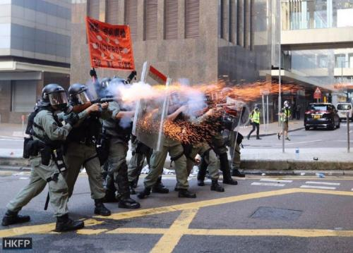 Petrol Bombs, Rubber Bullets And A Stormtrooper Waving An American Flag; Another Sunday In Hong Kong