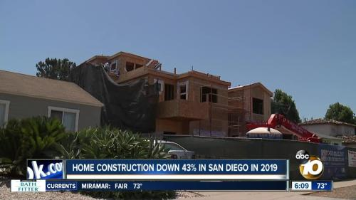 San Diego Home Construction Plunges  Biggest Drop In SoCal