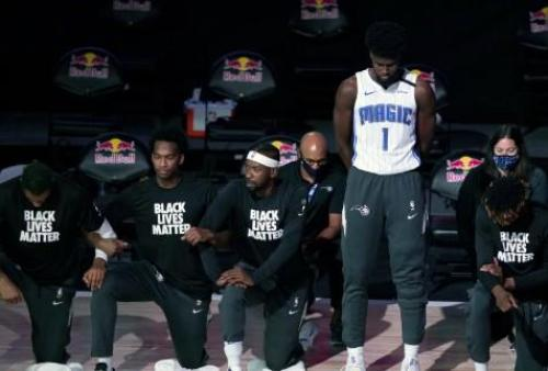 "NBA's Jonathan Isaac Becomes First To Stand For National Anthem And Refuse To Wear A ""Black Lives Matter"" T-Shirt"