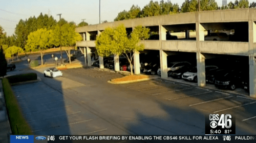 Shocking Video Shows Tesla Run Stop Sign And Slam Into Pedestrian In Atlanta Parking Lot