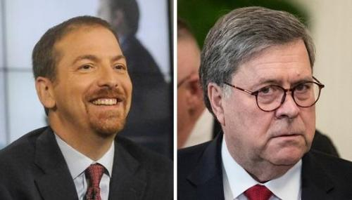 Trump Furious After NBC 'Apologizes' For Chuck Todd's Propaganda Edit Of Barr Interview