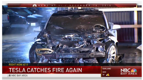 The NHTSA Is Finally Looking Into Tesla Battery Fire Issues