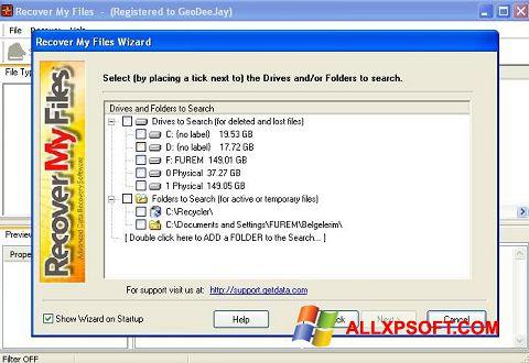 Recover My Files Windows XP 3264 bit