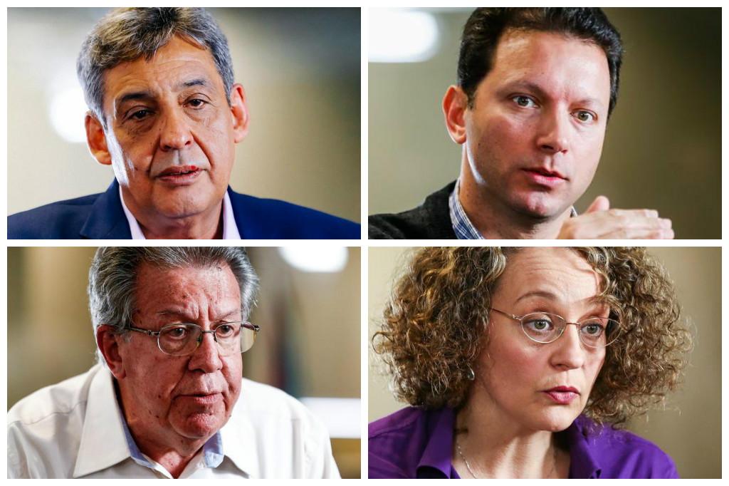 Ibope aponta Melo com 26%, Marchezan com 18%, Pont com 16% e Luciana com 12% em Porto Alegre Agência RBS/Agência RBS