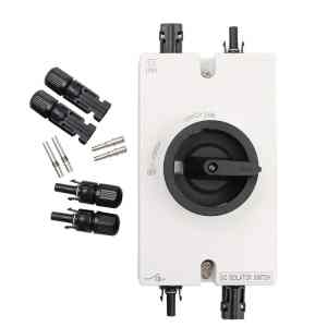 DC isolator switch for solar