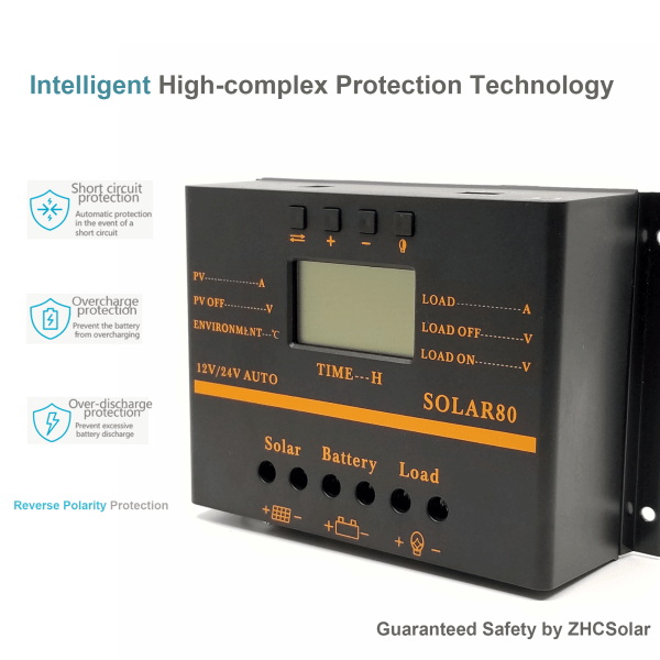 solar charge controller MP80