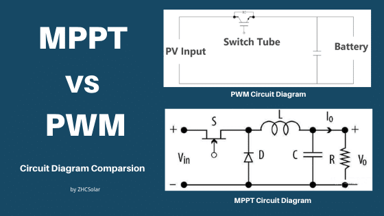 mppt vs pwm circuit diagram