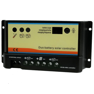dual battery solar panel charge controller