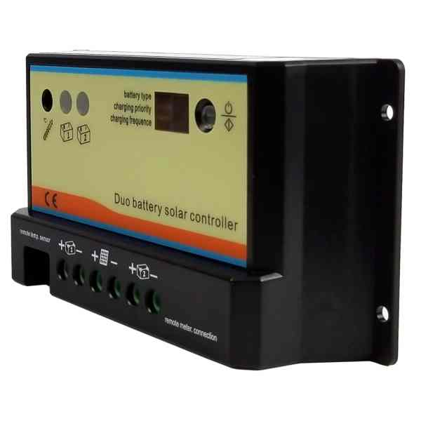 Dual Battery Solar Panel Charge Controller 2