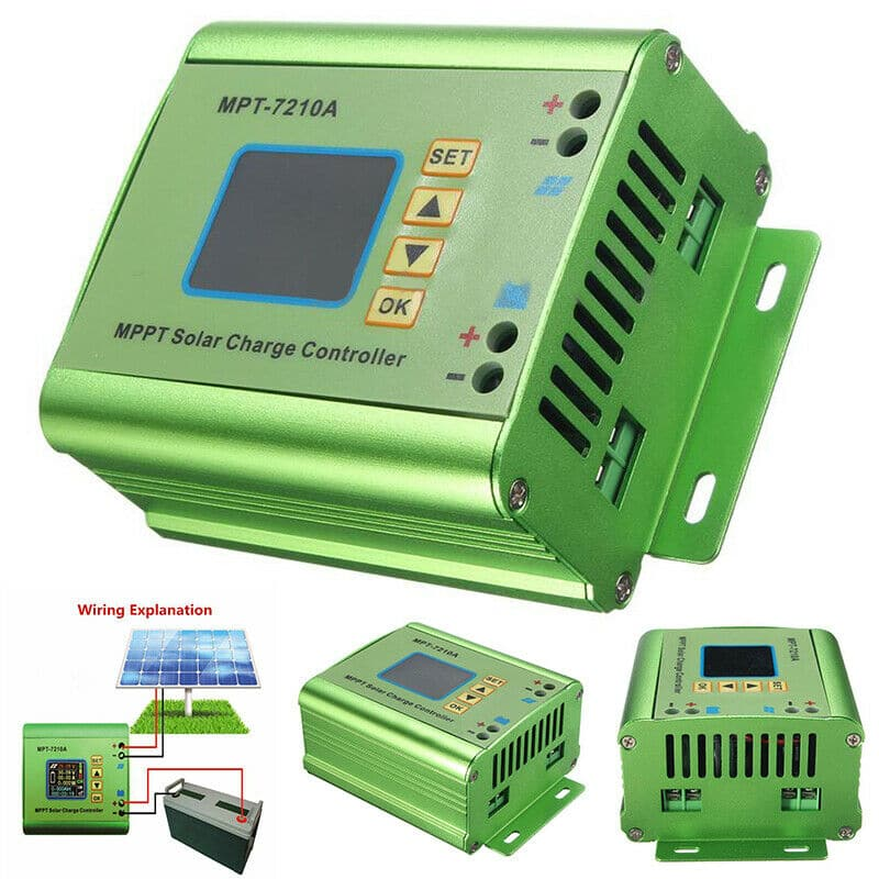 MPT-7210A Solar Charge Controller MPPT