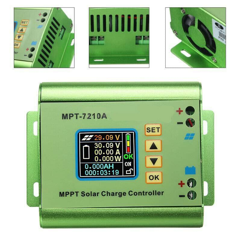MPT-7210A MPPT Solar Charge Controller