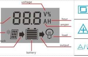 Solar Charge Controller With LCD Dual USB Solar Cell Panel 17