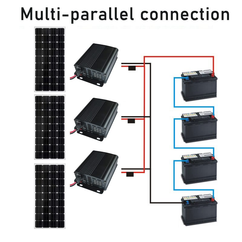 Parallel Charger Connection for Multiple Battery Charge