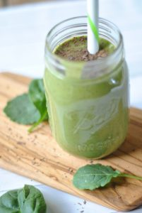 mint and chip shake