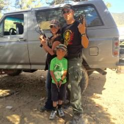 family gun session