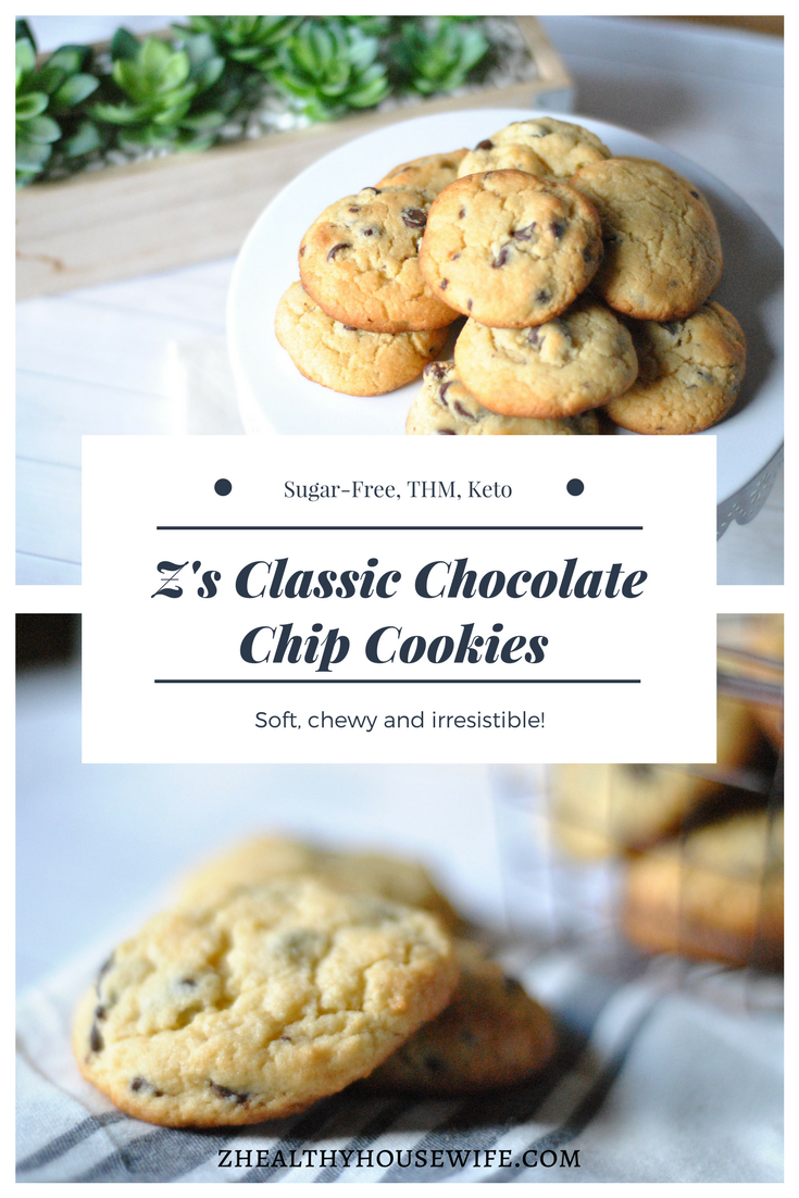 Z's Classic Chocolate Chip Cookies
