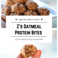 Z's Oatmeal Protein Bites