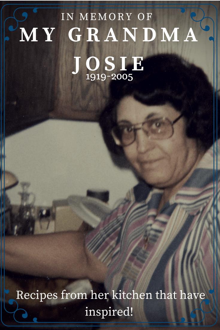 my grandma Josie