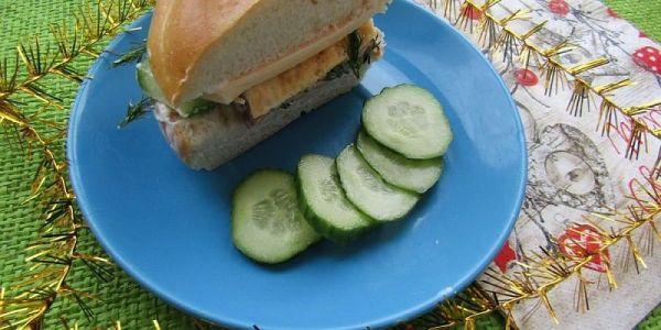 Быстрый перекус: простой рецепт домашнего сэндвича ...