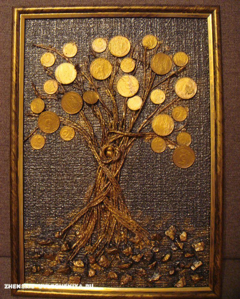 Картинки поделки денежного дерева