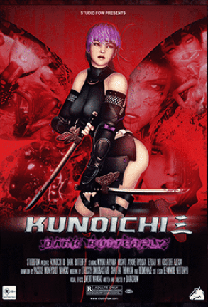 Kunoichi 3 Dark Butterfly Uncensored