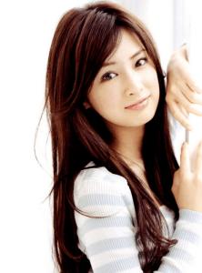 北川景子 英語 髪型