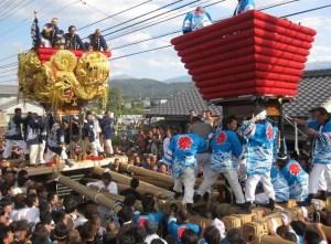 新居浜太鼓祭り 2015 歌