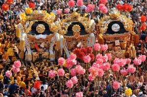 灘のけんか祭は2015年も10月に開催!松原や木場の画像も人気!