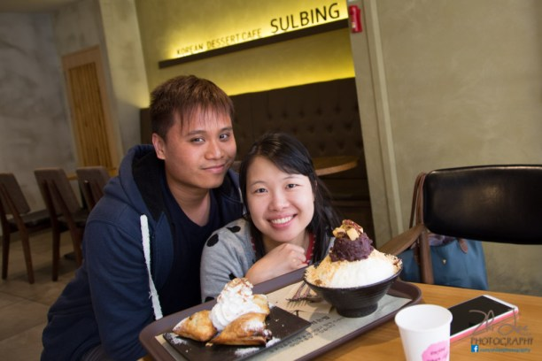Try the Milk Shaven Ice desserts at Sul Bing in Myeong Dong