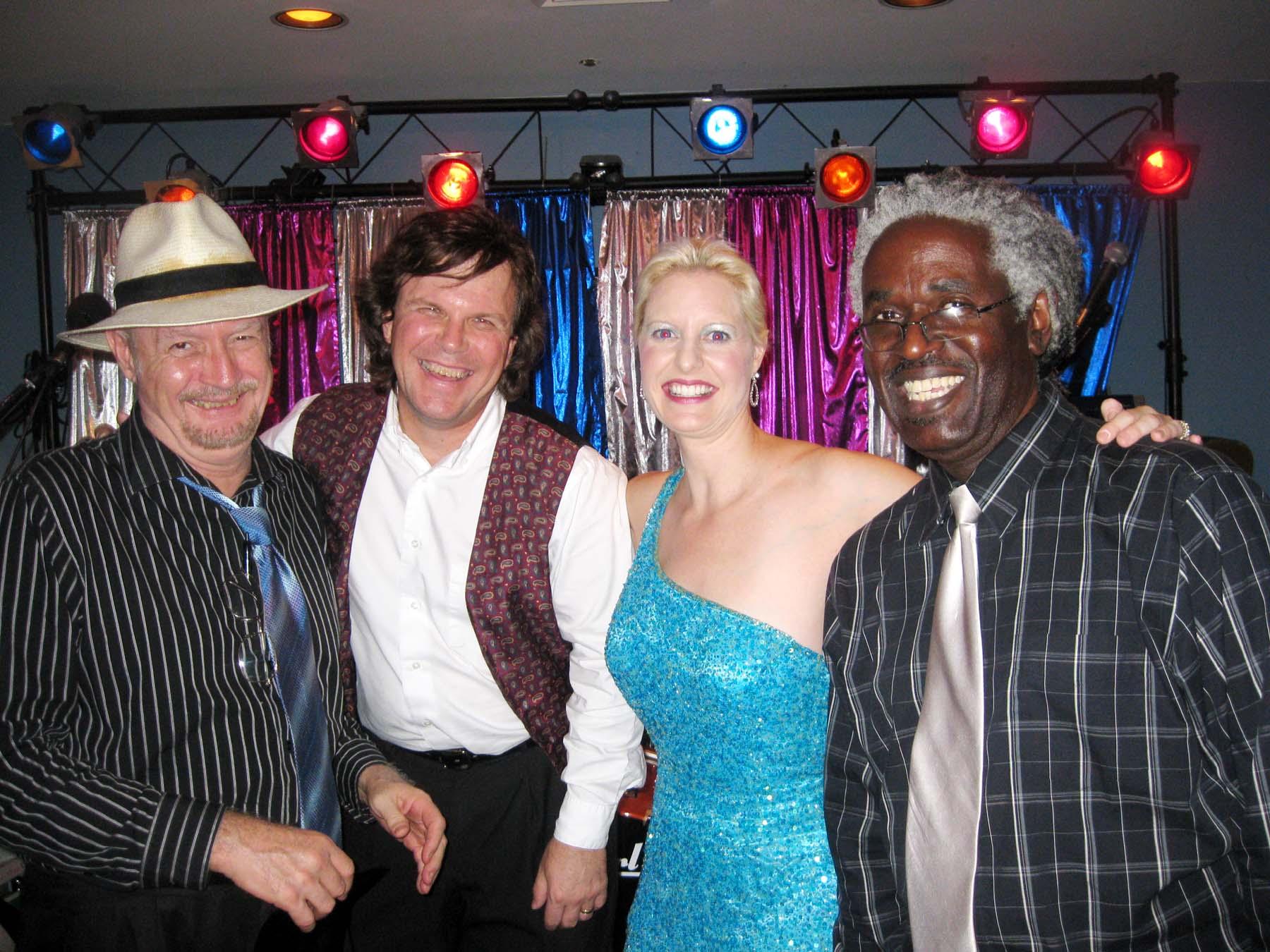 Photo (L-R):  Paul Needles, Rick Barclay, Dr. M.J. Price, Gary Ward