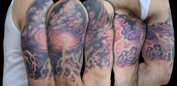 Storm Sleeve : Tattoos