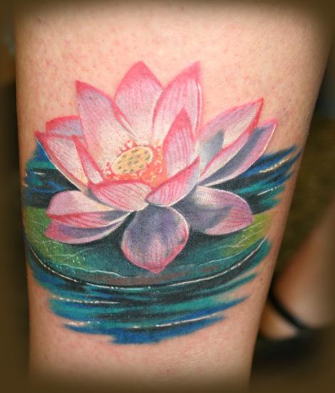 Keyword Galleries: Color Tattoos, Coverup Tattoos, Flower Tattoos,