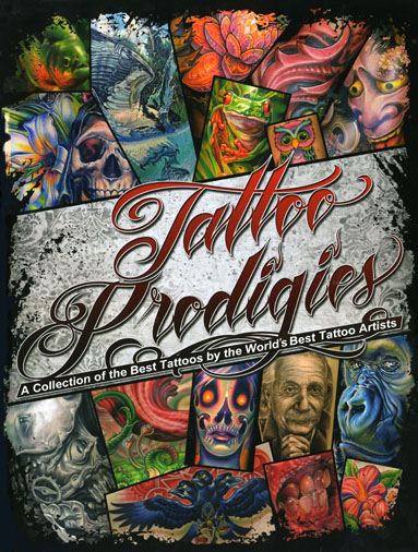 This will feature 3 amazing new tattoo community group book projects: First,