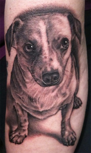 Tattoo Inspiration – Worlds Best Tattoos: Dog Tattoo