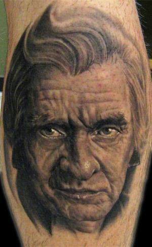 Tattoo Inspiration – Worlds Best Tattoos: Johnny Cash Tattoo