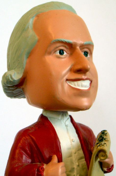The Bobblehead - image from wikimedia - Creative Commons Attribution 2.0 Generic license
