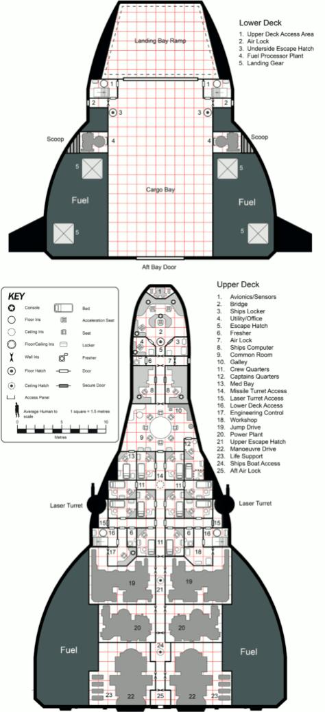 Notorious Deckplans