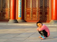 This is Yang Yang, the daughter of one of the teachers at our school