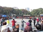 People's Park dancing