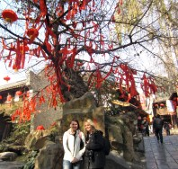 Amy and I at Jinli Street