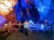 After passing out for a couple hours in my Guilin hostel, I headed to the Reed Flute Cave