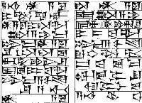 早于中国二千年的苏美尔人文字与汉字完全不同