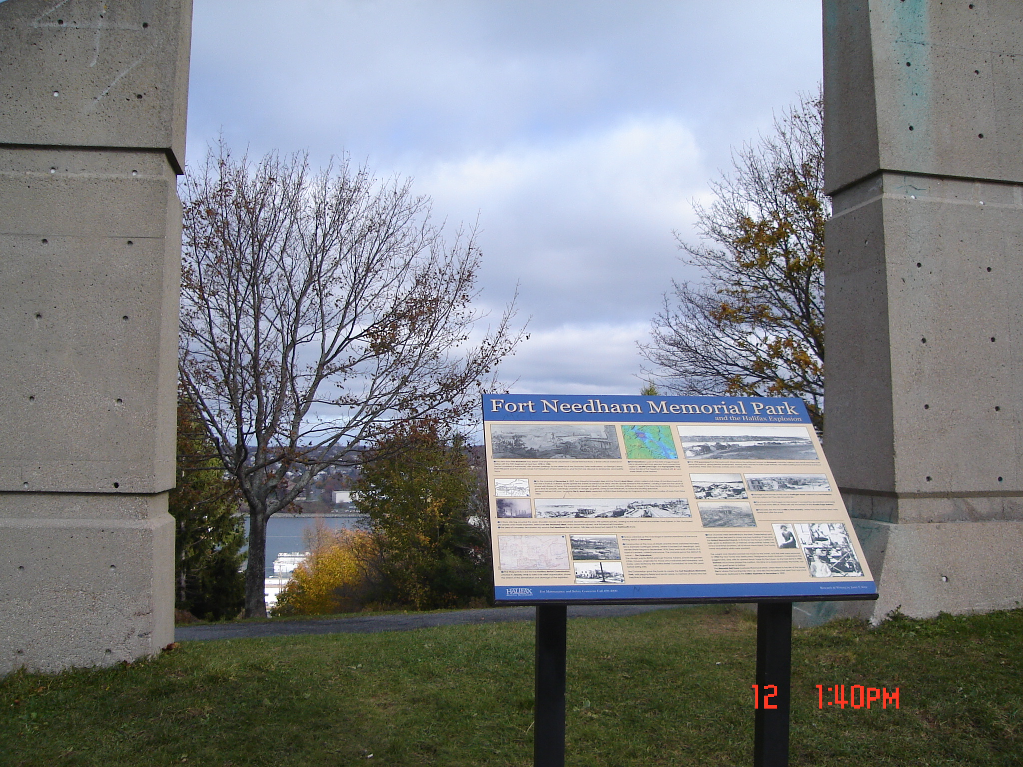 the-view-of-the-halifax-explosion-site-through-the-walls-of-the-memorial-bell-tower